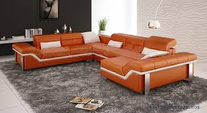 modern leather living room furniture. aliexpress.com : buy free shipping modern design, best living room furniture , leather sofa set, orange color customized couch set s8712 from reliable o
