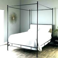 king size metal canopy bed frame – farmtoeveryfork.org