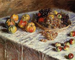 claude monet 1840 1926 still life with apples and gs 1880 art insute of chicago
