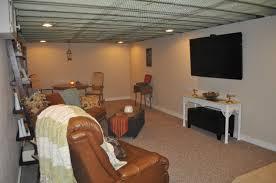 Painted basement ceilings 2 Decorating Ideas