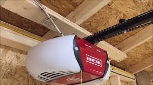 a craftsman garage door opener you