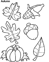 Small Picture Fall Coloring Activity Sheets Coloring Pages