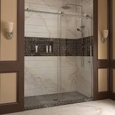 modern sliding glass shower doors. Full Size Of Door: Bathroom Sliding Door To A Spacious With Matching Colors Modern Glass Shower Doors