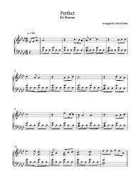 ed sheeran sheet music perfect ed sheeran piano sheet music david sides enterprises inc