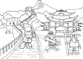 Ninjago Coloring Pages To Print Coloring Pages Coloring Pages Free
