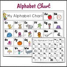My Alphabet Chart Alphabet Chart