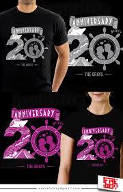 Company Anniversary T Shirt Design Ideas Playful Personable T Shirt Design For A Company By Fatboy29