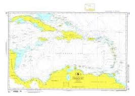 Nga Chart 402 Caribbean Sea Omega
