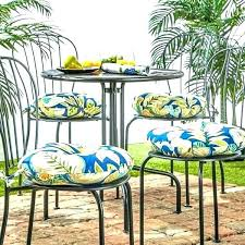 round outdoor cushions clearance impressive chair cushion