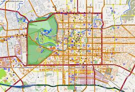 city maps christchurch Map Of Christchurch touristic map christchurch map of christchurch new zealand