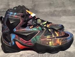 all lebron shoes 1 14. does this crazy colored nike lebron 13 save the shoe all lebron shoes 1 14