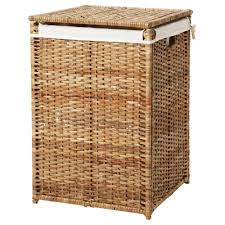 BRANS laundry basket with lining