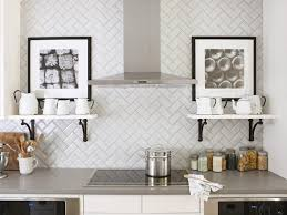 Subway Tile Backsplash Patterns Magnificent 48 Creative Subway Tile Backsplash Ideas HGTV