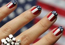 american flag nail art pictures photos