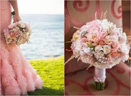 San Diego Wedding Photography La Jolla Beach Pink Wedding Dress