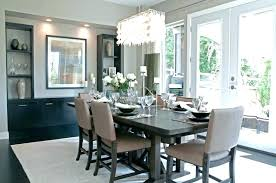dining chandelier height elegant above table and pendant room from ro