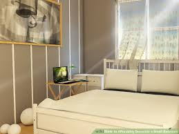image titled decorate small. Image Titled Affordably Decorate A Small Bedroom Step 5 L