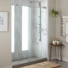 frameless sliding shower doors.  Doors 60 Intended Frameless Sliding Shower Doors I