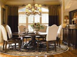 formal round dining room sets for 10