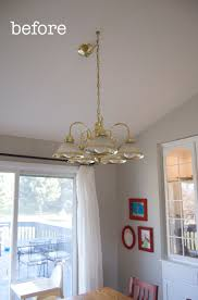 there is absolutely nothing on the whole internet that is more irresistible to me than a good before and after chandelier makeover