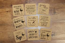Custom cork coasters Wedding Favors Quick View Alibaba Cork Coasters Personalized Laser Engraved 3 Each