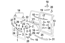 door handle parts diagram. 2004 Chevrolet Express 2500 Parts Mileoneparts Com Powered By Trademotion Door Handle Diagram Chevy Van Wiring Of 2008