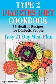 Type 2 Diabetes Diet Cookbook Meal Plan 55 Healthy