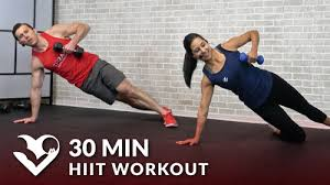 30 minute hiit workout for fat loss video