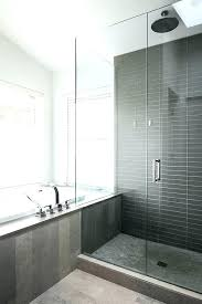 showers contemporary shower tile modern bathroom designs black carved wooden gray with chrome room tiles