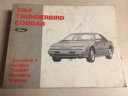 1990 thunderbird mercury cougar ford wiring diagram evtm manual 90 1990 thunderbird mercury cougar ford wiring diagram evtm manual 90