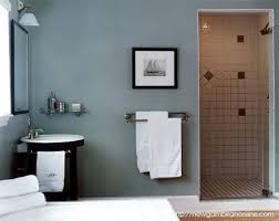 Stunning Blue Paint Colors For Bathroom Whith White Bathtub And Paint Color For Bathroom
