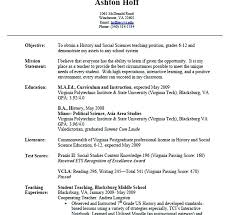 Resume Format For School Teacher Resume Format For Teachers High ...