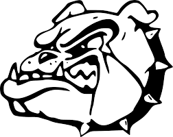 bulldog clipart black and white.  White Throughout Bulldog Clipart Black And White L