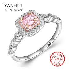Whole <b>SaleYANHUI</b> Fine Jewelry Royal Princess <b>Original Solid 925</b> ...