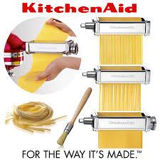 kitchenaid pasta maker. kitchenaid - de luxe pasta roller set 5ksmpra kitchenaid maker t