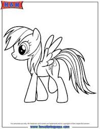 Small Picture 45 Best My Little Pony Images On Pinterest Rainbow Dash Coloring