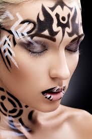 83 best Black \u0026 White Make-up images on Pinterest | Black, Beauty ...