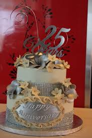 25th Wedding Anniversary Cake Heavenly Desserts