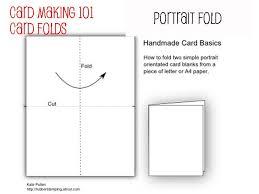 fold card card making for beginners card folds
