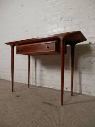 midcentury modern console table by lane at stdibs