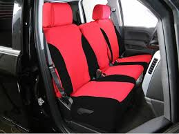 black red saddleman neoprene seat covers