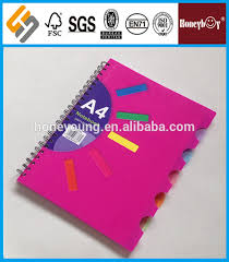 Notebook With Different Colored Pages Color Bros