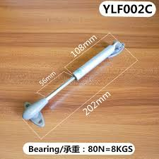 8 Inch Bearing Bullet Shape Head Support Lift Up Hydraulic Gas