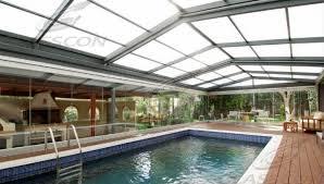 custom pool enclosure hexagon shape. Freestanding Retractable Pool Enclosures Custom Pool Enclosure Hexagon Shape Glasscon
