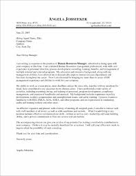 Examples Of Cover Letters For Resume Free Sample Cover Letter Human Resources Position Cover Letter 82