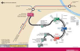 newark airport map