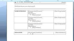 Free Resume Templates Microsoft Word 2007 Adorable Free Resume Templates Microsoft Word 48 Stepabout Free Resume