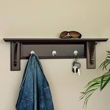Wall Coat Rack With Storage Coat Rack Shelves Wood Nobailoutorg 88