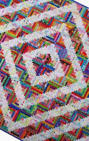 How to Make a Quilter's Knot: Step-by-Step Tutorial + Tips ... & Red Pepper Quilts: Step Back in Time - scrappy log cabin and tutorial Adamdwight.com
