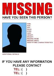 Missing Person Poster Template Magnificent Lost Poster Template Missing Person Ks48 T Toy Thepatheticco